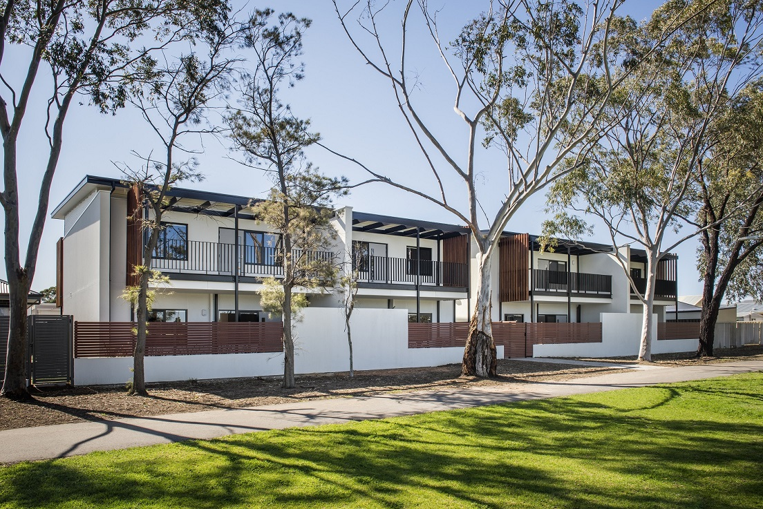 Ten independent and affordable homes in Adelaide designed for people with disability.  Ground level units have been certified LHD Platinum level.